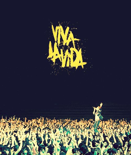 Coldplay- Viva La Vida has been my favorite song since the orchestra I played in played it!!