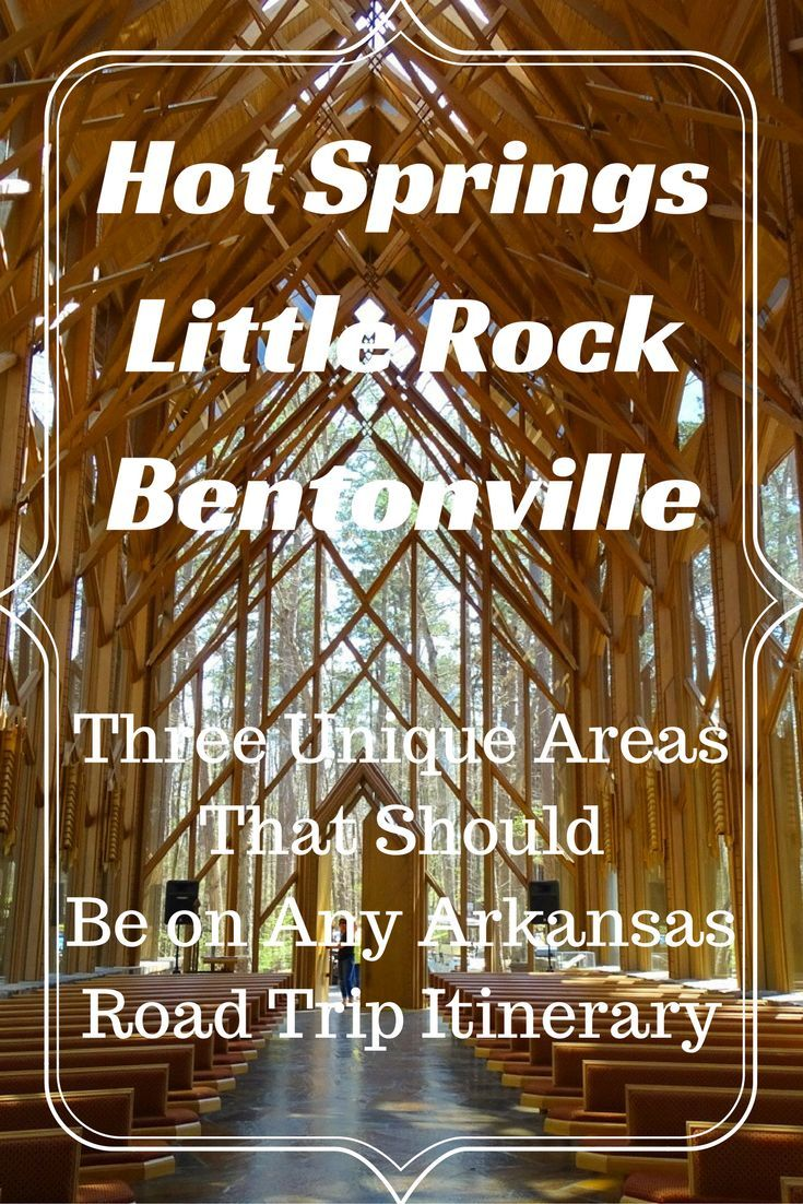 Three unique places in Arkansas for any