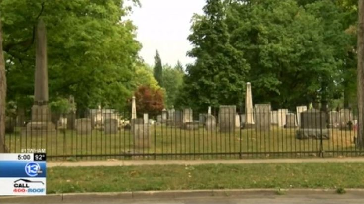 Police are investigating after two people found dead in a cemetery Wednesday afternoon.