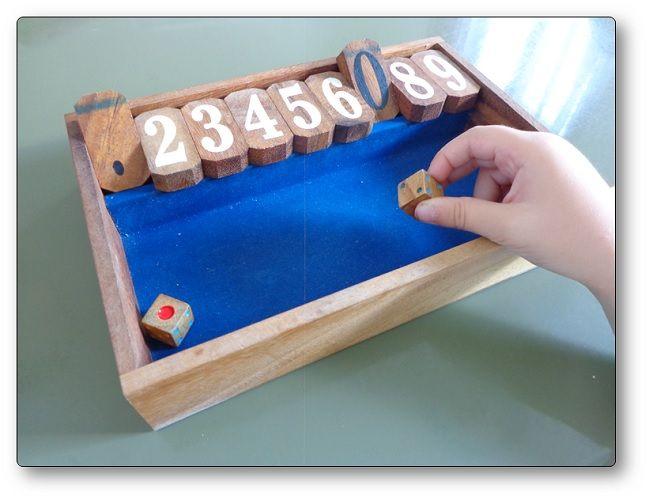Le Jeu De Trac Ou Fermer La Boite Un Jeu Favorisant La Decomposition Des Nombres Jeux Calcul Jeux Jeux Mathematiques