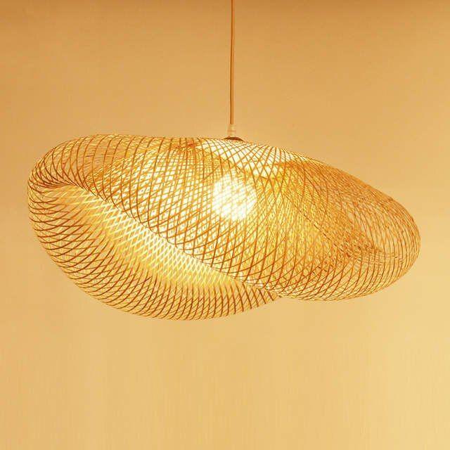 Online Shop Nordic Led Hout Hanglamp Bamboe Keuken Armaturen Led Hanglamp Suspension Thuis Indoor Eetkamer Opknoping Lamp Armat Hangende Lampen Hanglamp Bamboe