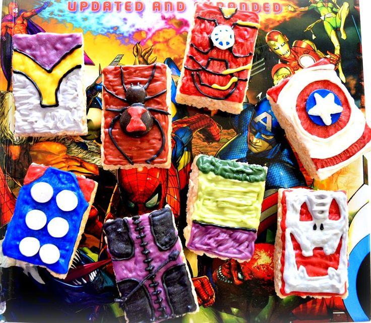 Sugar Swings! Serve Some: The Avengers - Age of Ultron Super Hero Rice Krisp...
