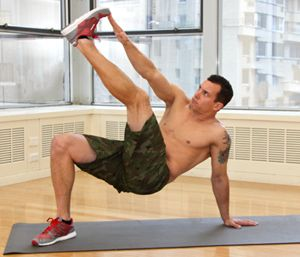 The 4 Best Abs Moves You've Never Done---- Reinvent your core workout with this killer 10-minute series created by celebrity fitness trainer Jay Cardiello