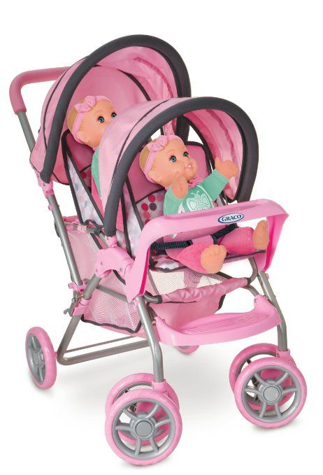 Amazon Com Graco Duoglider Doll Stroller Toys Amp Games