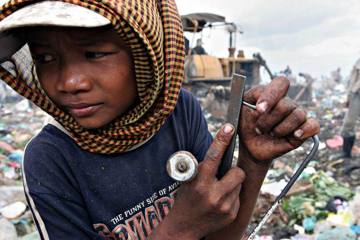 Stung Meanchey Garbage Dump | No! Child labour | Cambodia ...