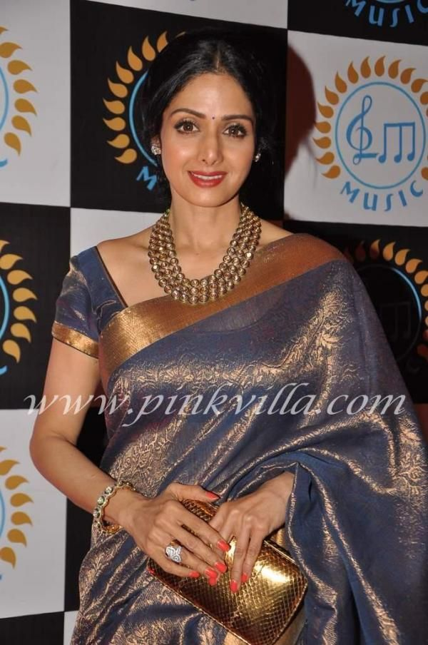 Sridevi at Lata Mangeshkar's music label launch
