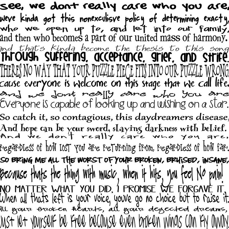 Paradise Fears - Sanctuary speech I absolutely love this. I listened to it about a thousand times until I memorized every word