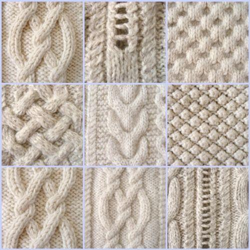 comment tricoter le point irlandais