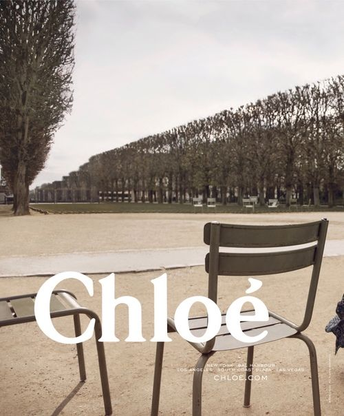 Chloe fashion ad, without fashion - just the place