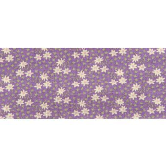 Rico Marguerites Violet Fabric Single