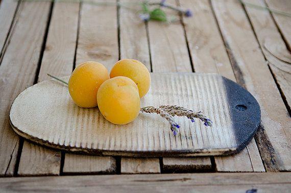 Ceramic cheese board ceramic serving by OritCreativeWorkshop