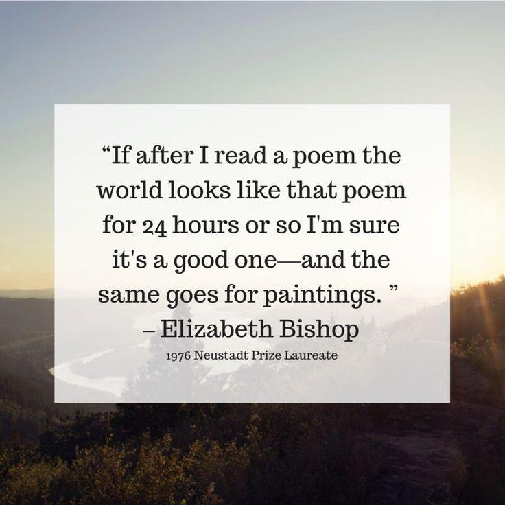 Elizabeth Bishop Poetry: American Poets Analysis - Essay