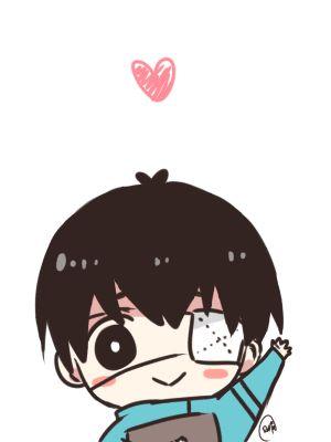 ♡ On Pinterest @ kitkatlovekesha ♡ ♡ Pin: Chibi Anime ~ Tokyo Ghoul ~ (GIF) Kaneki Ken ♡