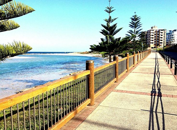Boardwalk at The Entrance along the scenic Coast to Lake Walk