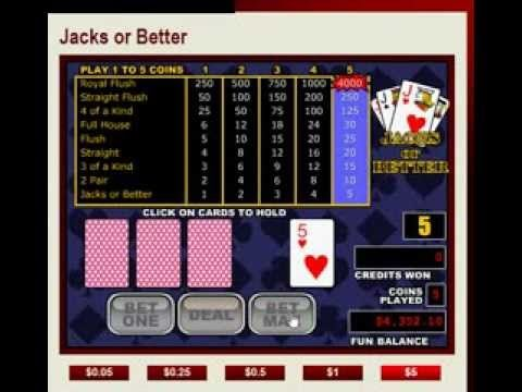 video poker st ategy: