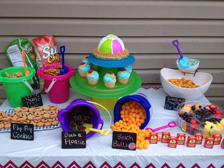 Pool Party Snack Ideas pool party birthday party ideas Find This Pin And More On Swimming Pool Party