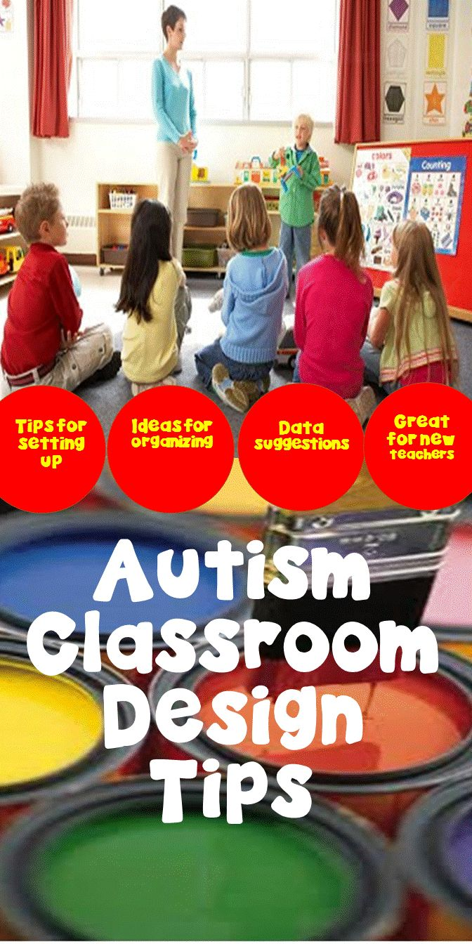 Classroom Design For Students With Autism ~ Best images about how to set up a classroom for