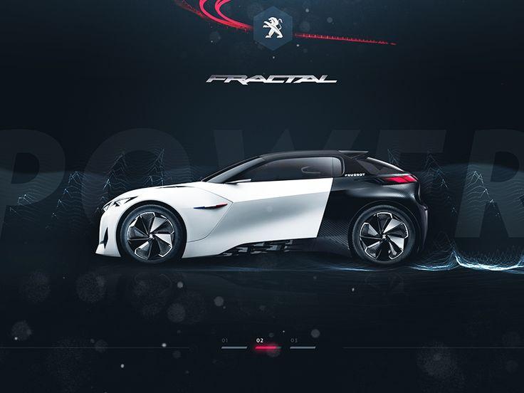 Peugeot™ Fractal - Preview by Steve Fraschini