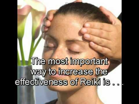 REIKI TRAINING PART E - Giving a Basic Treatment