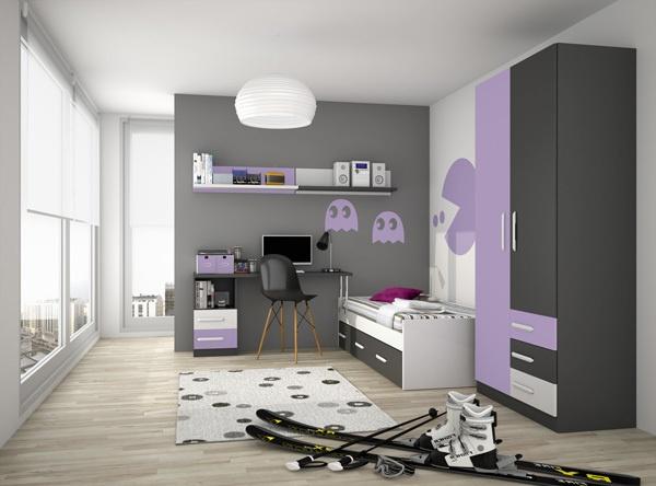 3d Kids' Bedrooms by Adrian Candela, via Behance #3d #3dsmax #fryrender #maxwell #render #furniture #interior #design