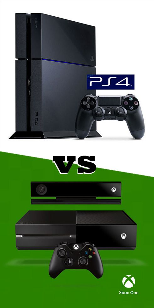 PlayStation 4 Vs. Xbox One: Which Is the Better Console? | The two, Entertainment and PlayStation