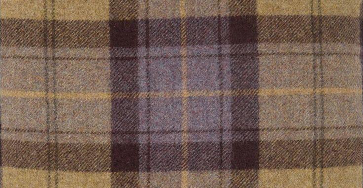 Lois, un coussin, brun plaid, 40 cm x 40 cm