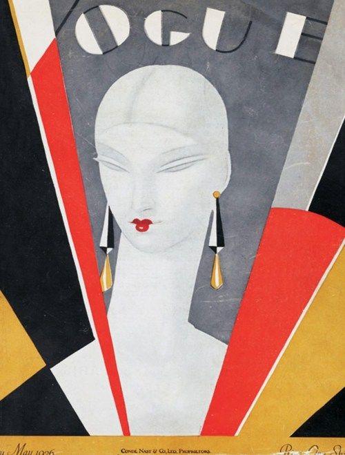 Vogue cover, May 1926  Editor: Alison Settle , Cover Design: Eduardo Benito