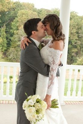 Bride Groom First Look Private Estate Wedding in Maryland 275x412 Maryland Wedding Ceremony at Home: Laurie + Dave