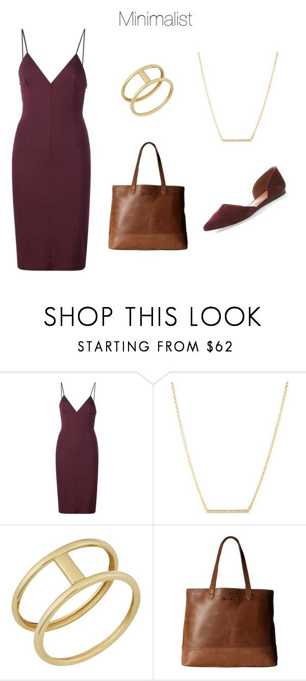 """""""Style taxonomy: Minimalist"""" by skugge ❤ liked on Polyvore featuring T By Alexander Wang, Kate Spade, Fremada, SOREL and Vince Camuto"""