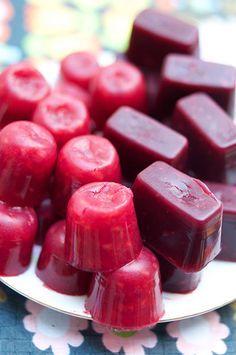 Jujubes aux fruits (VÉGÉTALIENS) : petites bouchées moelleuses et sucrées.