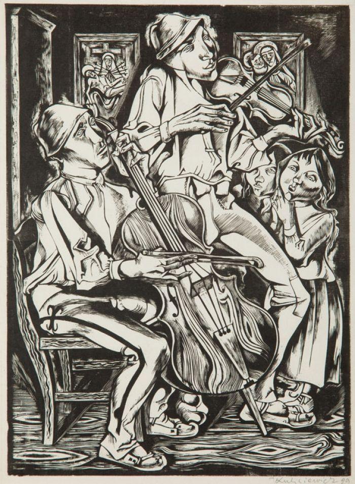 Tadeusz Kulisiewicz - Orkiestra, 1929 r.