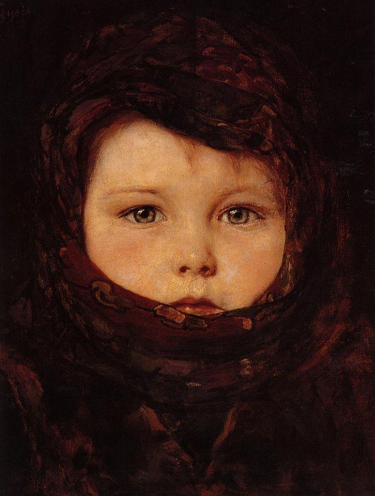 Nikolaos Gyzis (Greek; 1842-1900) ~Little Girl
