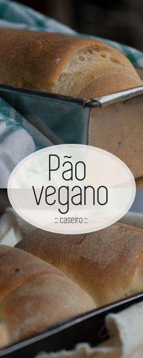 Receita de pão vegano ou pão de água, delicioso e muito fácil de fazer!