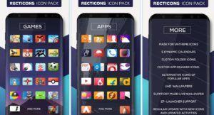 Recticons – Icon Pack es un tema de personalización que trata sobre modificar el aspecto visual de tu movil ya sena fondos, iconos e imágenes, creado y o actualizado por los estudios Samira Maknojiya en la fecha de 1 de octubre de 2017, actualmente esta en la versión 1.0 compatible con Android 4.0.3 en adelante y apto para toda la familia, tiene una puntuación de 4.8 en google play y podrás descargar el apk y los datos totalmente gratis aquí en tu pagina web favorita Android Apk Data.