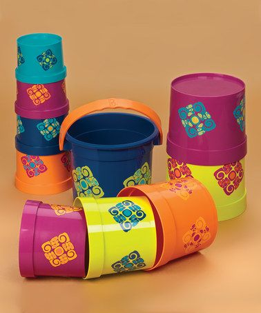 Take a look at this Bazillion Buckets by Battat on #zulily today! $20 !!