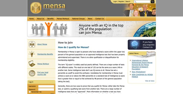 How to join | Mensa International