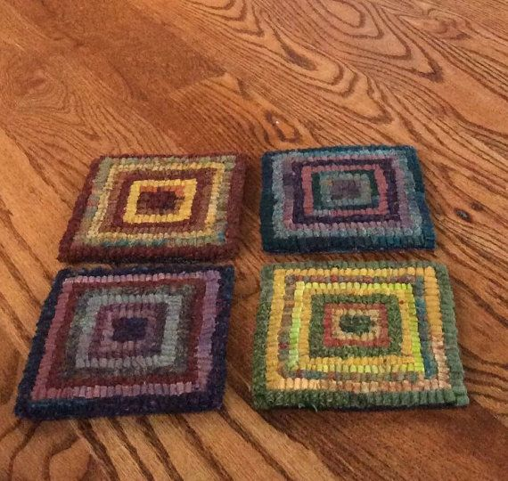 88 Best Rug Hooking-Small Projects Images On Pinterest