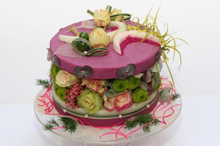 Gâteaux fleurs de l'Atelier Fleurs d'Auteuil » Paris côté jardin
