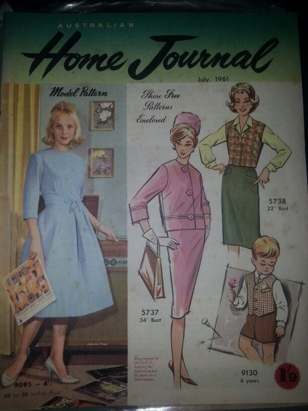 Australian home journal July 1961 cover