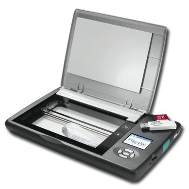 This portable scanner is the best I've found for traveling genealogists!