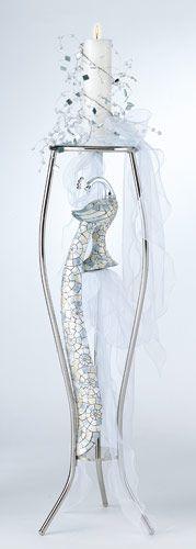 Λαμπάδα γάμου Bird Of Hapiness - Είδη γάμου & βάπτισης, μπομπονιερες γαμου tornaris-rina.gr