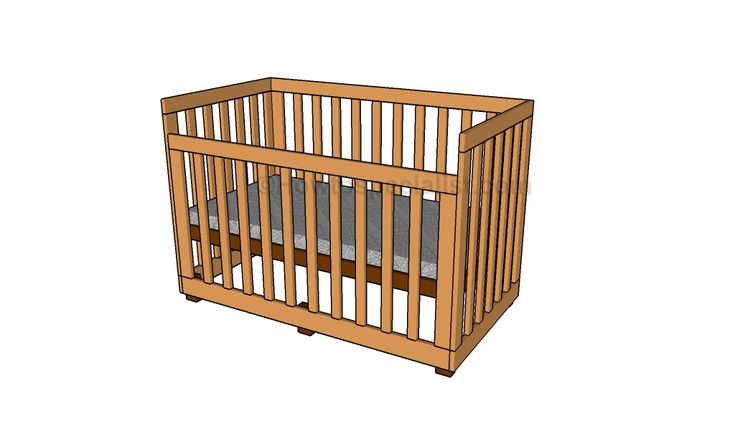 How To Build A Baby Crib Free