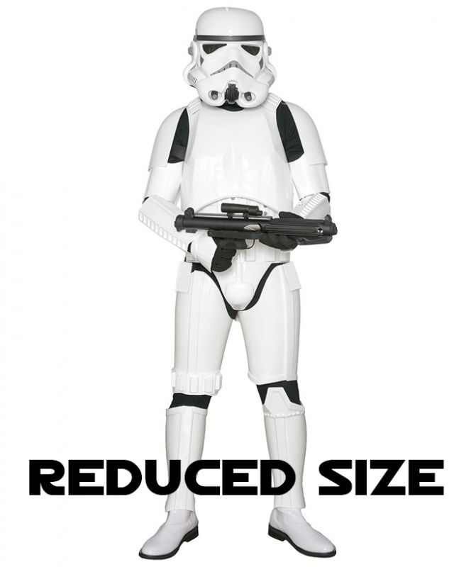 www.stormtrooperstore.com : Star Wars Stormtrooper Costume Armor with Accessories and Ready to Wear - Original Replica - A New Hope - REDUCED SIZE