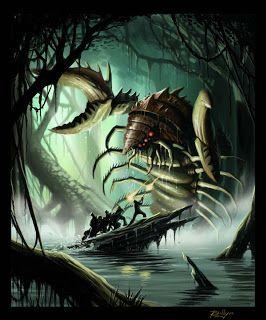 Deep Sea Monsters #art