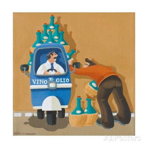 Thirsty Work, 2010 Giclee Print by Victoria Webster - AllPosters.co.uk