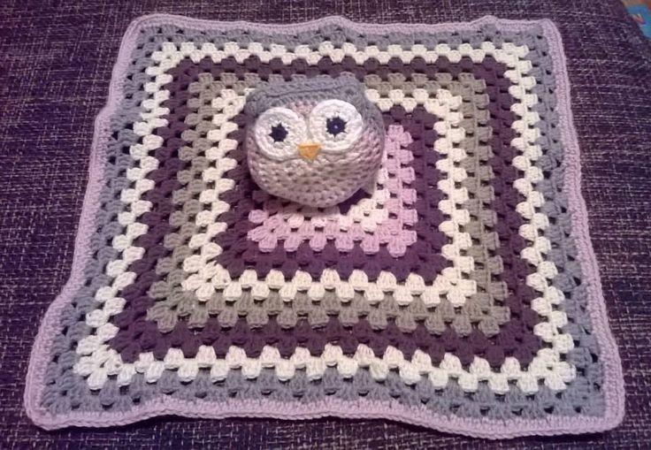 Baby comfort blanket for my best friends girl.