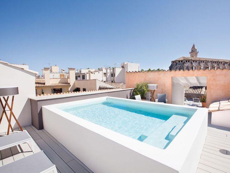 hotel posada terra santa houses rooftop terrace mini. Black Bedroom Furniture Sets. Home Design Ideas