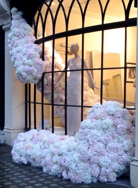 Bridal store - inside outside