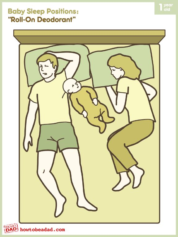 Our newest baby sleep position will create a stink, that's for sure! #babysleeppositions