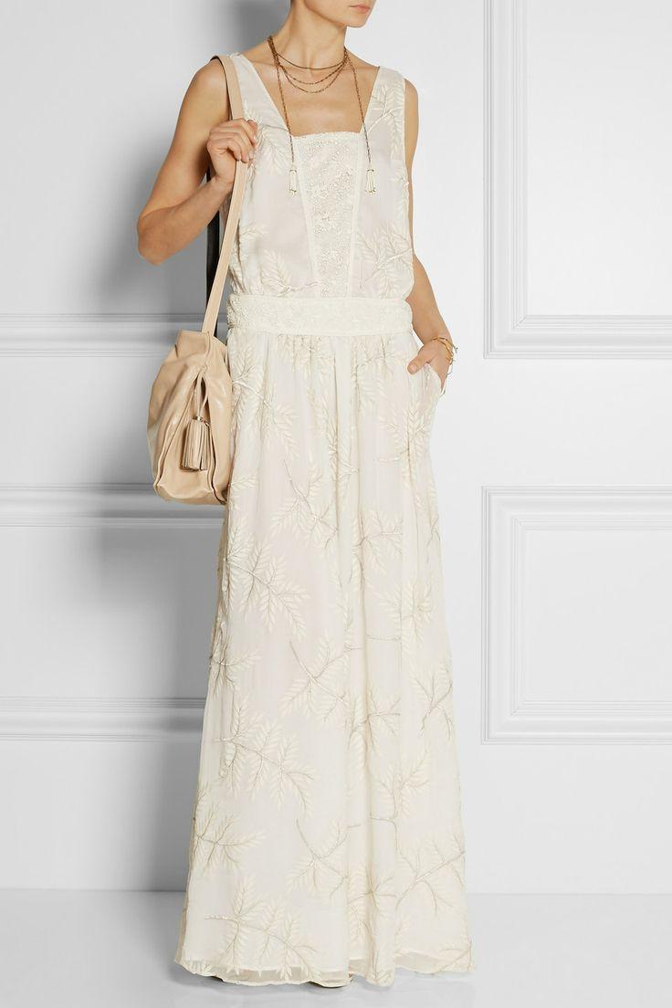 Paul & Joe Filibro embroidered silk and cotton-blend maxi dress NET-A-PORTER.COM $940